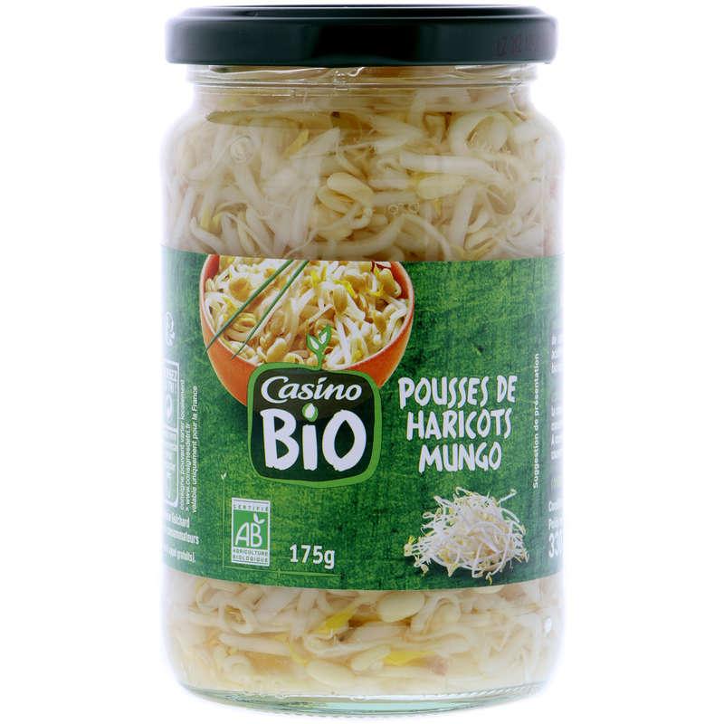CASINO BIO Pousses de haricots mungo - Biologique