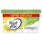 Fruit d'Or Oméga 3&6 - Margarine Demi-sel - 600g