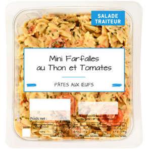 Mini farfalles thon tomates