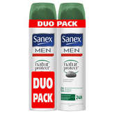 Sanex men déodorant nature protect normal 2x200ml