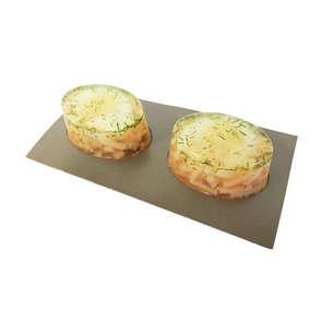 Aspic œuf poché saumon - X2