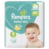 Pampers Baby Dry - Couches - Taille 4 - X