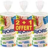 Bjorg Galettes - Riz Complet - Biologique -