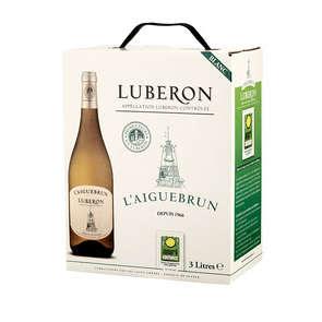 Luberon - Vallée du Rhône - L'Aiguebrun - Vin blanc sec