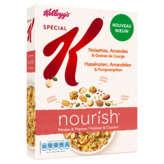 Special K Nourish Noisettes, Amandes et graines de citrouille de 330g de Kellogg