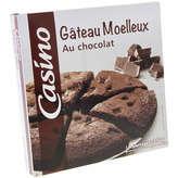 CASINO Gâteau moelleux - Au chocolat 350g