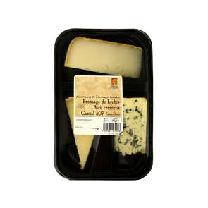 Plateau 3 fromages