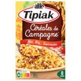 Tipiak céréales de campagne blé riz sarrasin 330g Prix Unitaire - Envoi Rapide Et Soignée