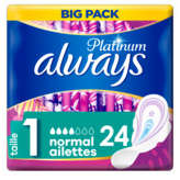 Always Big Pack - Serviettes - Ultra Normal - Taille 1 - X24