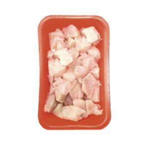 Cubes de poulet blanc