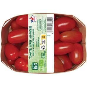 Tomate cerise allongée - Cat. 2 - Biologique