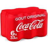 Coca cola btes 6x33cl
