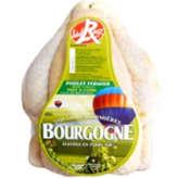 Pac Citron Poulet Fermier Blanc Label Rouge  Bourgogne - De 1,2kg À 1,7kg