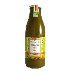 Velouté de légumes verts - Biologique