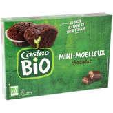 CASINO BIO Moelleux - Chocolat - Au sucre de canne