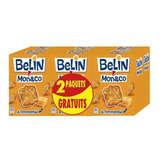 Belin Monaco - Biscuits apéritif à l'emmental les 4 paquets de 100 g