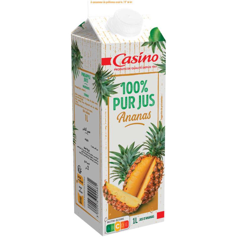 CASINO Pur jus - Ananas