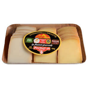 Plateau raclette 3 Fromages - 29% mg