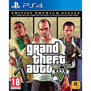 Jeu PS4 GTA V Edition Premium