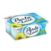 Yoplait Yoplait Perle De Lait - Yaourts - Saveur Citron - 4x125g
