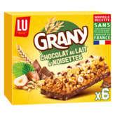 Lu grany chocolat au lait et noisettes 138g - ( Prix Unitaire ) - Envoi Rapide Et Soignée