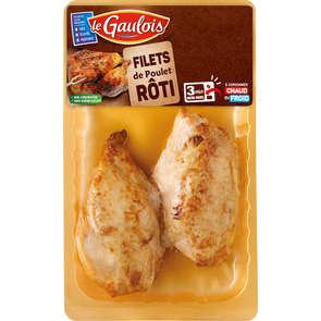 Filets de poulet rôti - x2