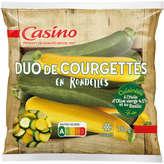 CASINO Poêlée du soleil - Duo de courgettes - Cour