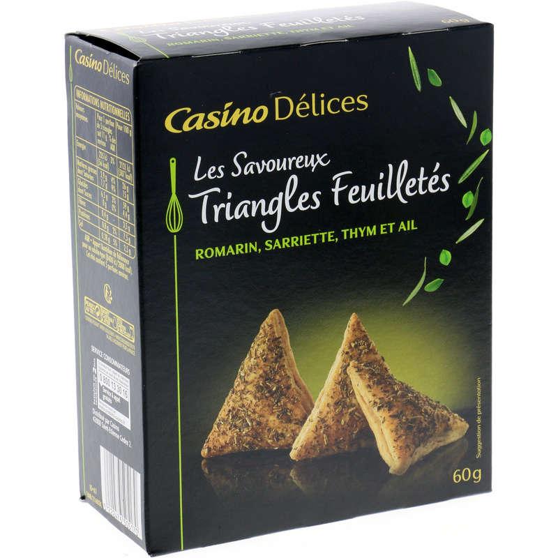 Les savoureux - Triangles feuilletés - Herbes de Prov...