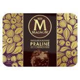Magnum Batonnets Glacés - Chocolat Praliné Noisettes - X