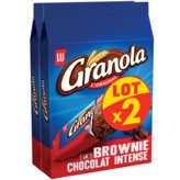 LU Granola Brownie - Chocolat Intense - 2x6 Barres - 2x180g