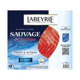 Labeyrie Saumon Fumé Sauvage - 6 Tranches - 180g