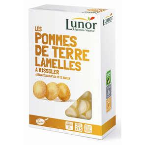 Légumes vapeur - Les pommes de terre lamelles à risoler