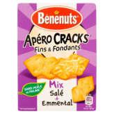 Bénénuts Apéro Cracks - Fins Et Fondants - Crackers - Biscui...