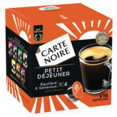 Carte Noire Petit Déjeuner - Café En Capsules - Intensité 4 ... - 128g