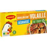 Maggi MAGGI Bouillon Kub deshydraté - Saveur Volaille - Dégraissé - x12
