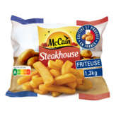 Mc Cain Steakhouse - Frites Surgelées - 1,3kg