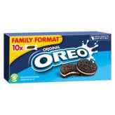 Oreo OREO Biscuits chocolat fourré lait - Gouter enfant - 440g
