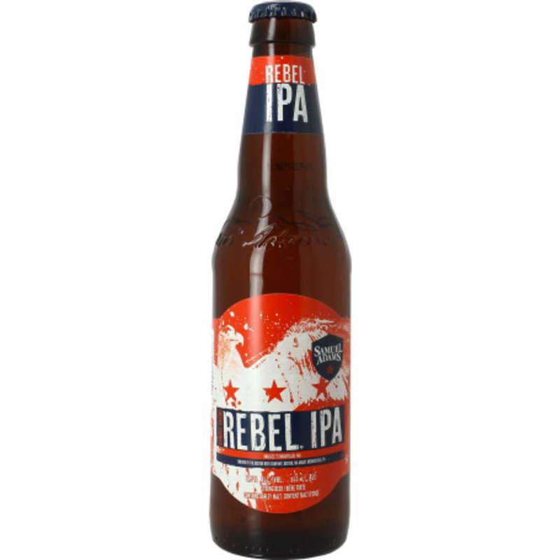 SAMUEL ADAMS Rebel - IPA - Bière Ambré - 4,8% vol