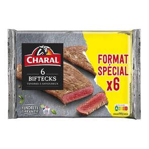 Viande bovine steak*** à griller - x6