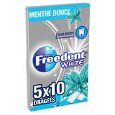 Freedent Chewing-gum Ss Sucres Menthe