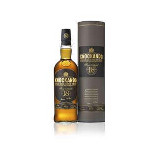 Slow matured -  Whisky - 18 ans d'âge - Single malt scotch whisky - Alc. 43% vol.