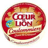 Coulommiers lait pasteurisé 23% de MG COEUR DE LION, 350G