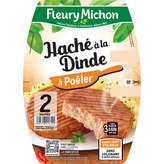 Fleury Michon FLEURY MICHON Le Haché à la Dinde - 100% cuisse et Filet de ... - 200g