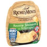 Riches Monts La Fondue - Recette Savoyarde Aux 3 Fromages - 450g