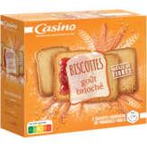 CASINO Biscotte briochée 36 tranches