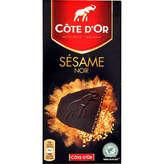 Côte D'or Dégustation Sésame Noir 100g