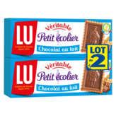 Petit Ecolier Chocolat Au Lait 2x150g