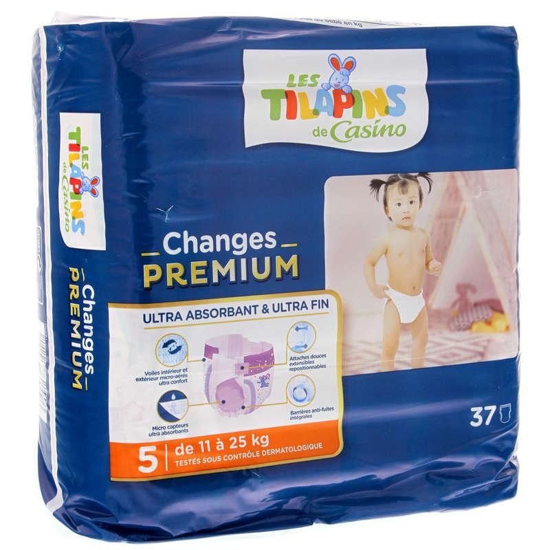 Couches premium - Junior - 11-25kg x37