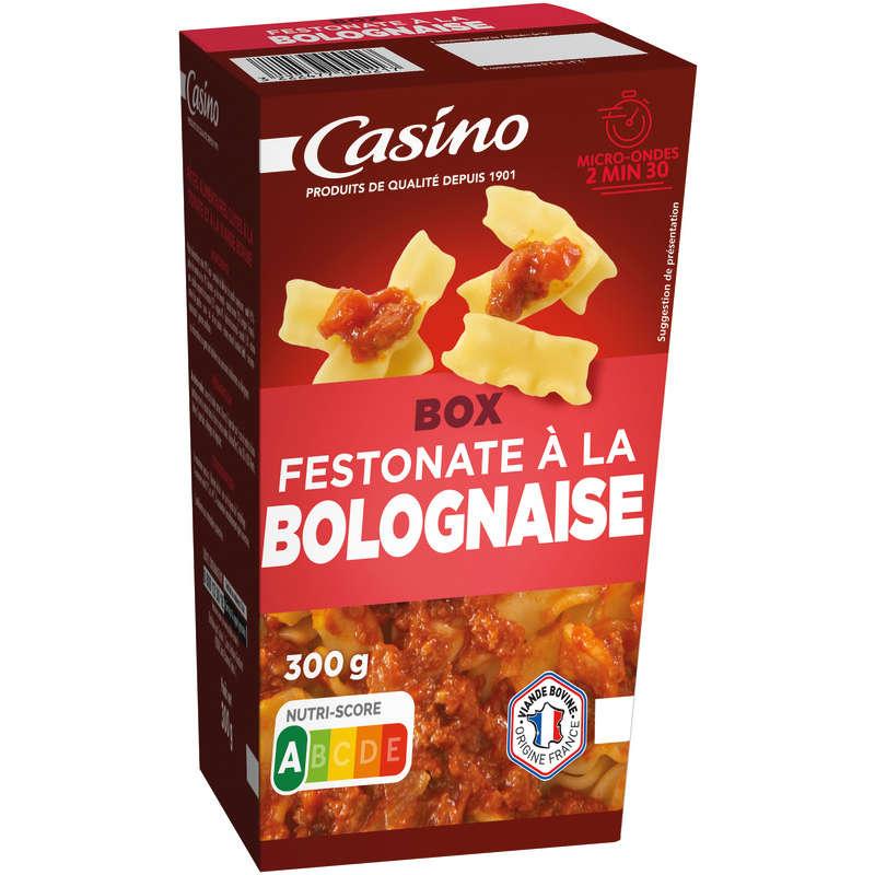 CASINO Fusilli bolognaise - Box - Pâtes