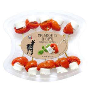 Brochette chèvre tomate confite - 11,5% mg